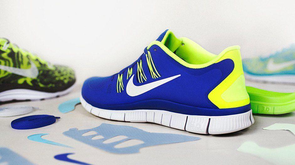 Nike free farver