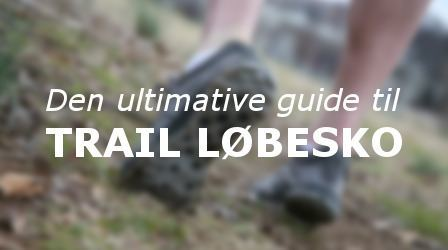 guide til trail løbesko