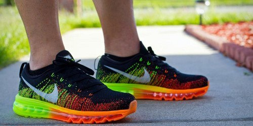 nike flyknit air max top