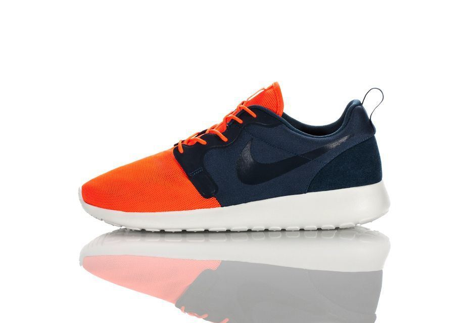 nike roshe run hyperfuse rød sort herre