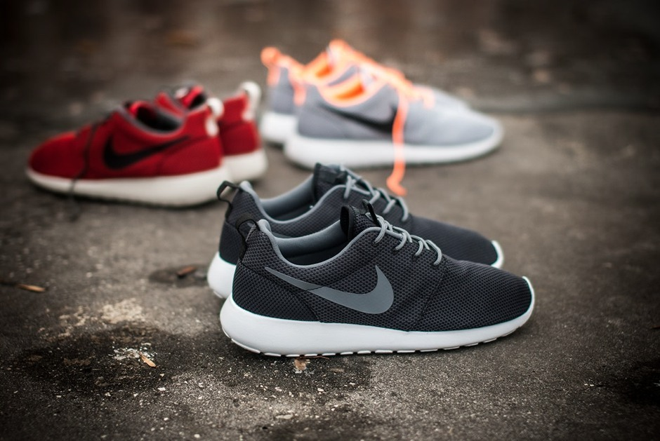 nike roshe run sneakers stil