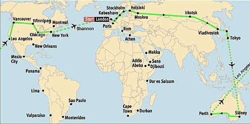 rute til world run 1