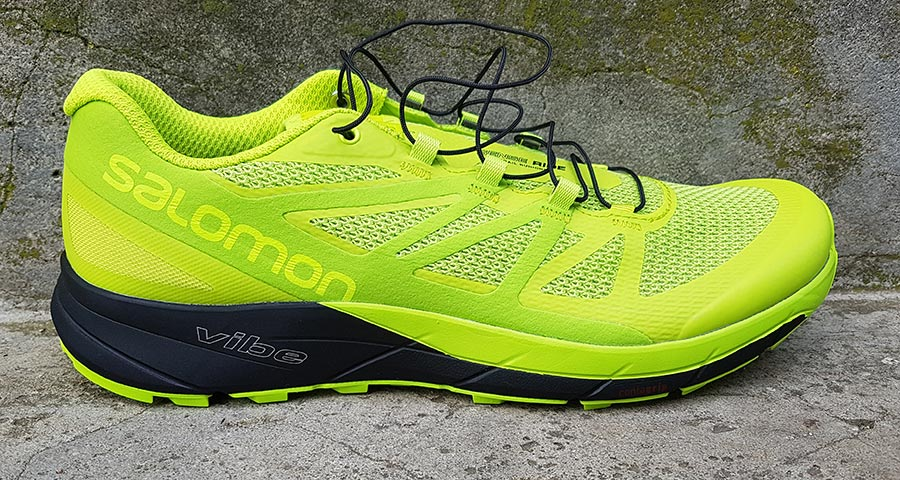 salomon sense ride set fra siden