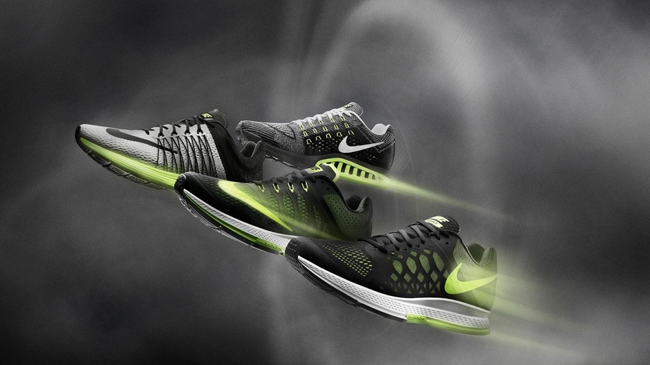 Nike zoom structure reklame